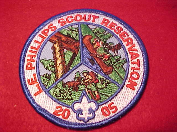 L. E. PHILLIPS SCOUT RESV., 2005