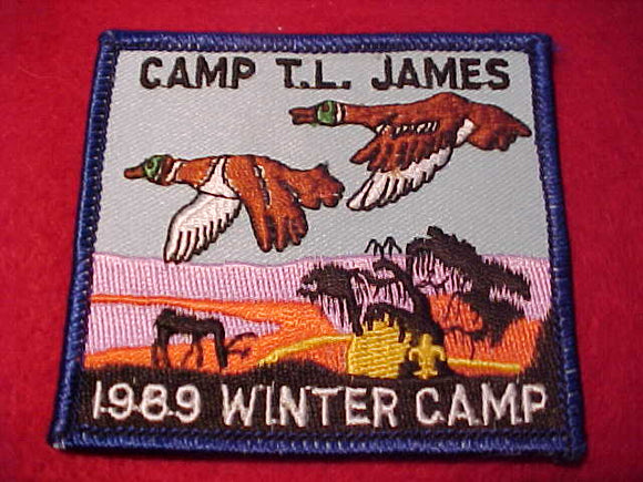 T. L. JAMES, 1989, WINTER CAMP