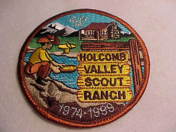 HOLCOMB VALLEY SCOUT RANCH, 1974-1998