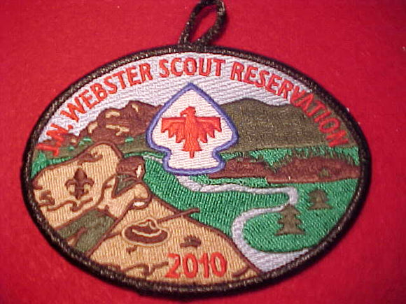 J. N. WEBSTER SCOUT RESV., 2010