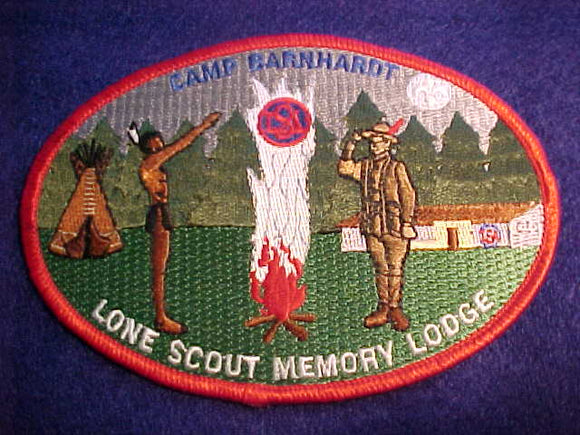 BARNHARDT, LONE SCOUT MEMORY LODGE