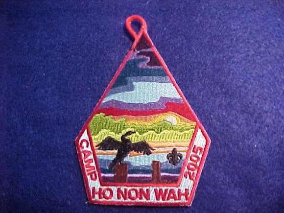 HO NON WAH, 2005, RED CUT BDR.