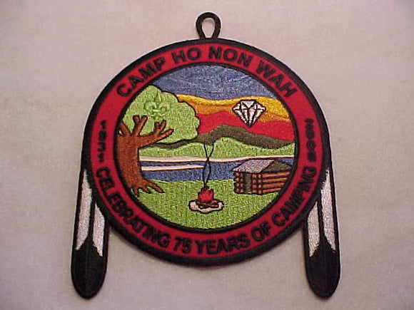 HO NON WAH, 2006, CELEBRATING 75 YEARS OF CAMPING, BLUE TWILL