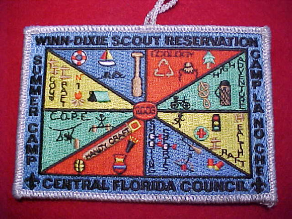 LA-NO-CHEE, 2003 SUMMER CAMP, WINN-DIXIE SCOUT RESV.