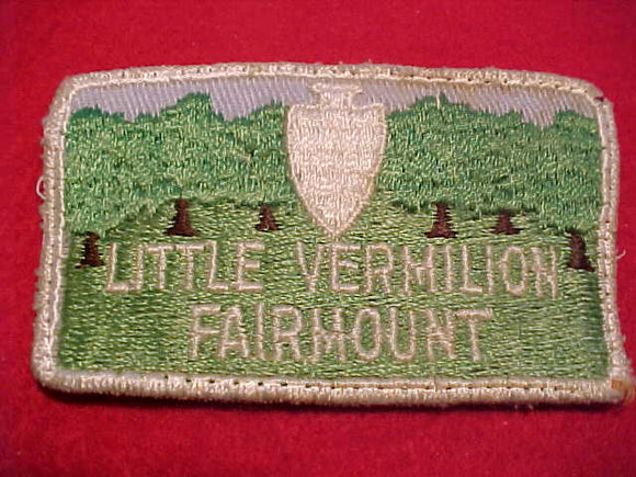 LITTLE VERMILION FAIRMOUNT, USED