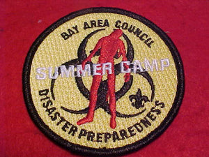 BAY AREA COUNCIL SUMMER CAMP, DISASTER PREPAREDNESS