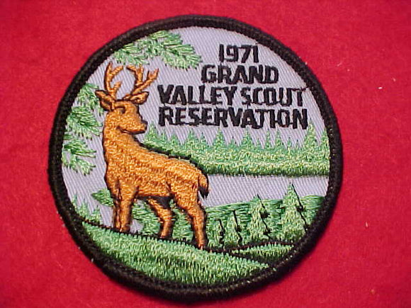 GRAND VALLEY SCOUT RESV., 1971