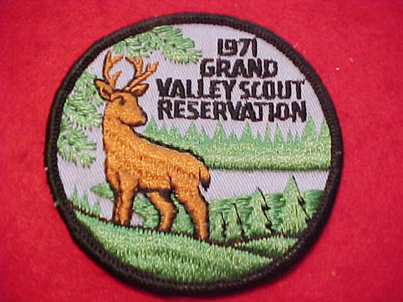 GRAND VALLEY SCOUT RESV., 1971, USED