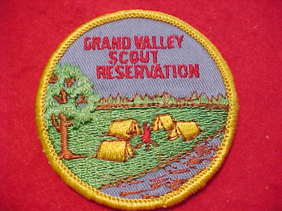 GRAND VALLEY SCOUT RESV., (1972?), NO CLOUDS, CLOTH BACK