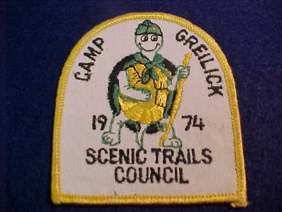 GREILICK, SCENIC TRAILS C., 1974