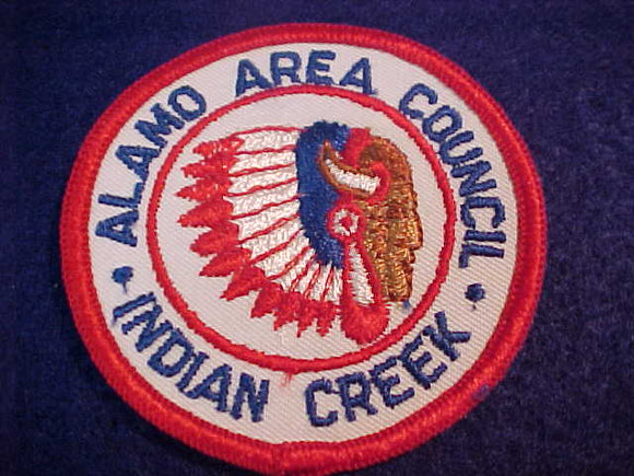 INDIAN CREEK, 1960'S, ALAMO AREA C.