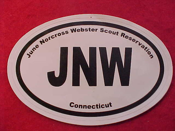 JUNE NORCROSS WEBSTER SCOUT RESV. STICKER