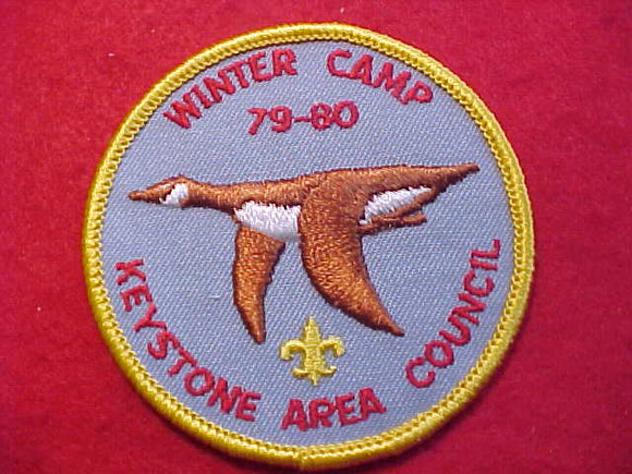 KEYSTONE AREA C, WINTER CAMP, 1979-80