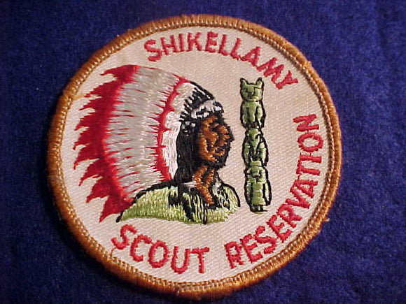 SHIKELLAMY SCOUT RESV., 1960'S, SLIGHT USE