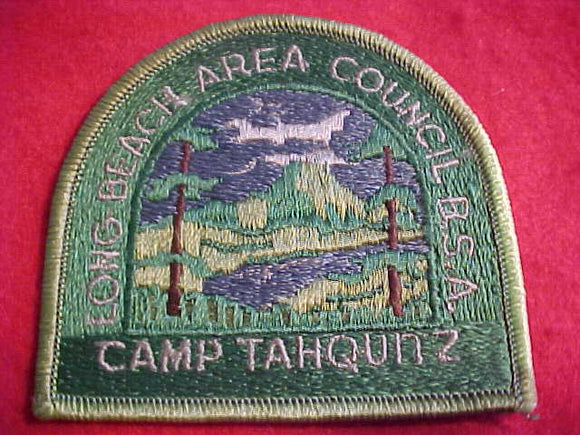 TAHQUITZ, LONG BEACH A. C., DK. GREEN TWILL, USED