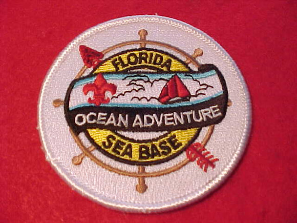 FLORIDA SEA BASE PATCH, OCEAN ADVENTURE/OA ARROW
