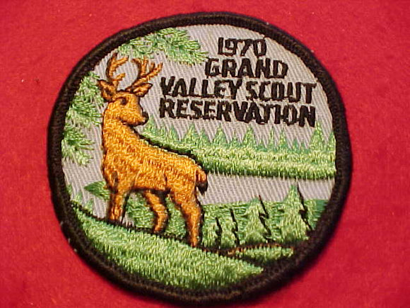 GRAND VALLEY SCOUT RESV. PATCH, 1970, USED