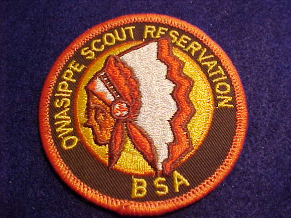 OWASIPPE SCOUT RESV. PATCH