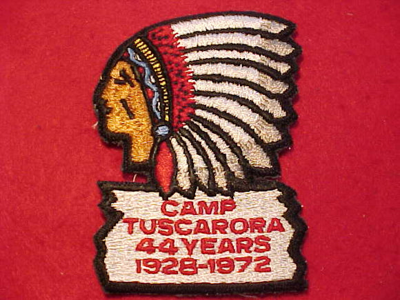 TUSCARORA PATCH, 1928-1972M 44 YEARS