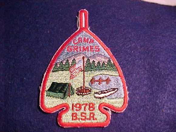 GRIMES PATCH, 1978