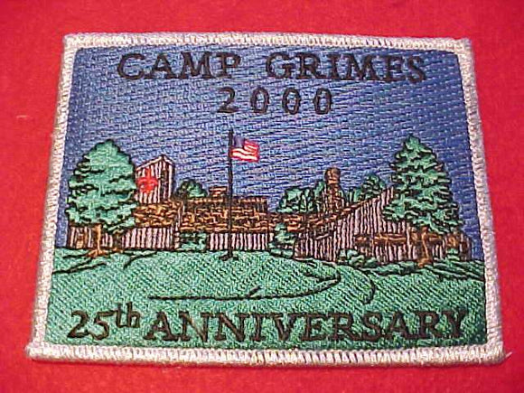 GRIMES PATCH, 2000, 25TH ANNIV.