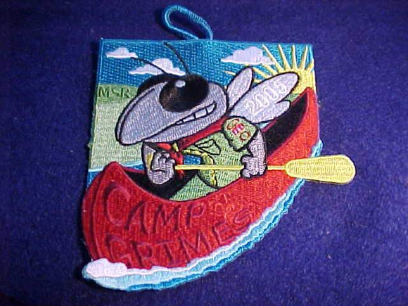 GRIMES PATCH, 2005, CANOEING HORNET