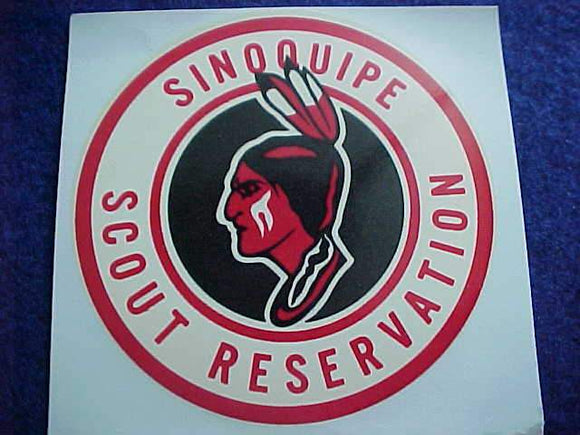 SINOQUIPE SCOUT RESV. DECAL, 3X3