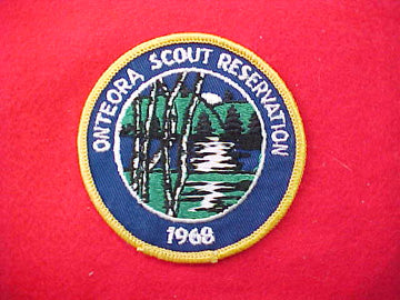 Onteora Scout Reservation 1968