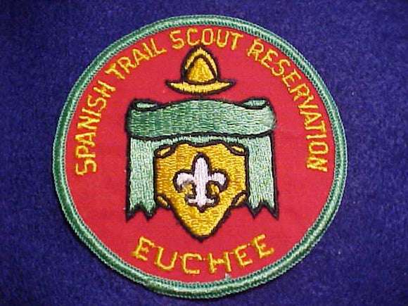 SPANISH TRAIL SCOUT RESV. PATCH, CAMP EUCHEE