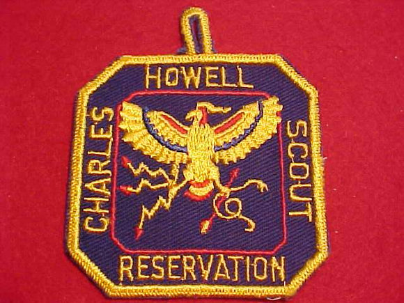 CHARLES HOWELL SCOUT RESV. PATCH, DETROIT AREA C., 1950'S