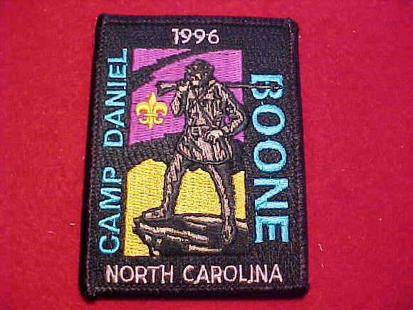 DANIEL BOONE PATCH, 1996, NORTH CAROLINA