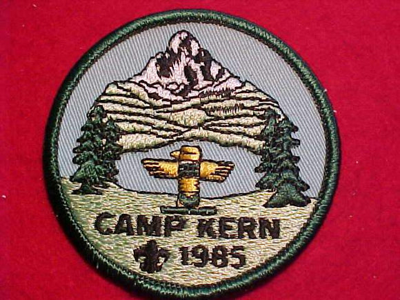 KERN PATCH, 1985
