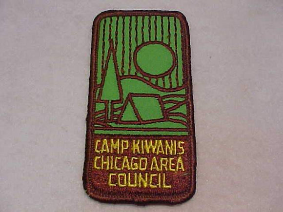 KIWANIS PATCH, CHICAGO AREA COUNCIL