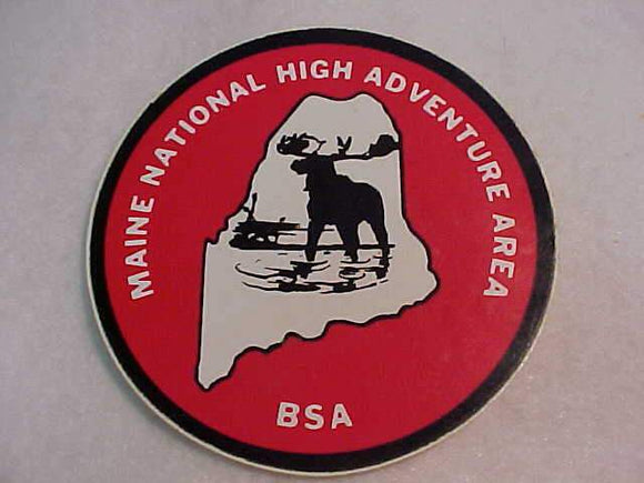 MAINE NATIONAL HIGH ADVENTURE AREA STICKER