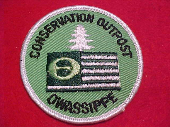 OWASSIPPE CONSERVATION OUTPOST PATCH (MISSPELLED