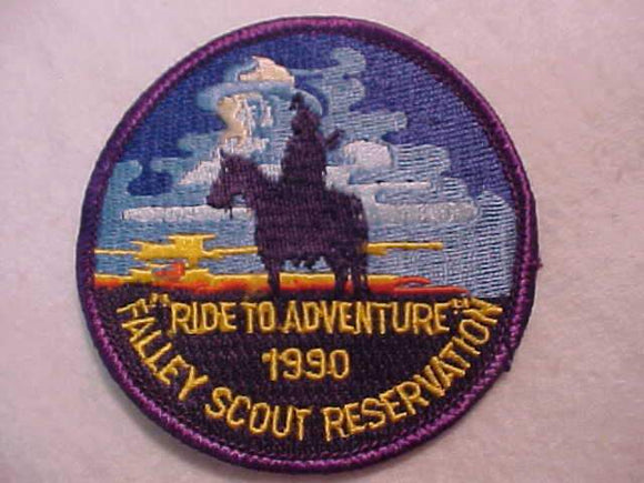 FALLEY SCOUT RESV. PATCH, 1990