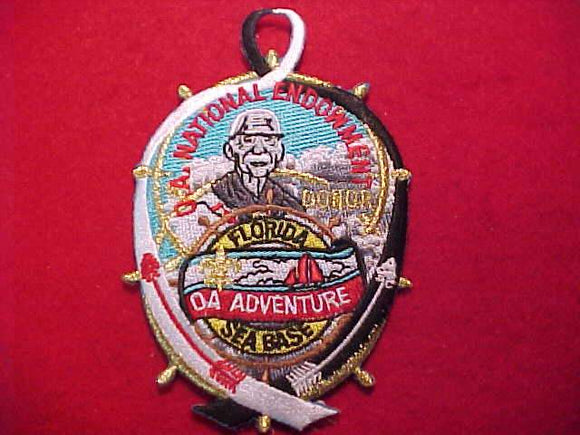 FLORIDA SEA BASE PATCH, OA ADVENTURE, OA NATIONAL ENDOWMENT, GOLD DONOR