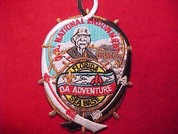 FLORIDA SEA BASE PATCH, OA ADVENTURE, OA NATIONAL ENDOWMENT, BRONZE DONOR