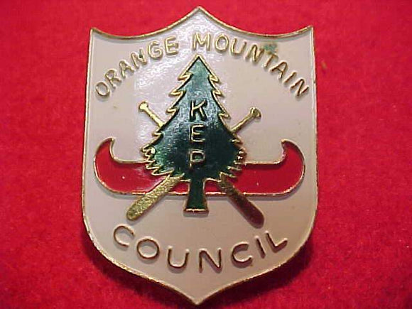 KEN-ETIWA-PEC (KEP) N/C SLIDE, ORANGE MOUNTAIN COUNCIL, METAL