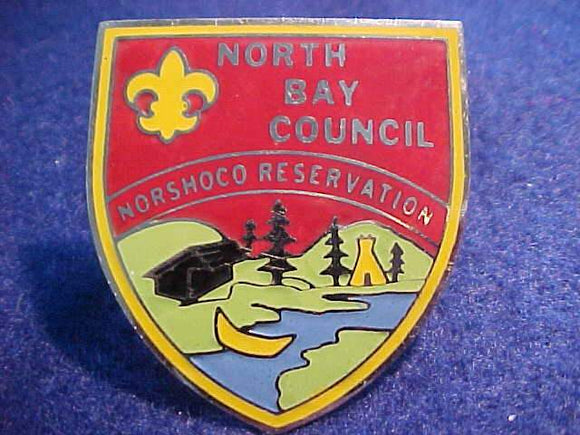 NORSHOCO RESV. N/C SLIDE, METAL, NORTH BAY COUNCIL