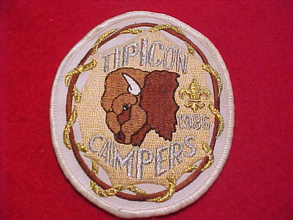 TIPICON PATCH, 1988 CAMPERS