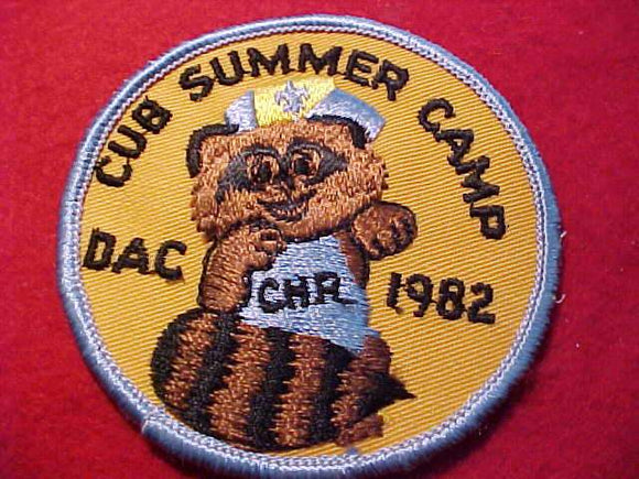 CHARLES HOWELL RESV., 1982, DAC, CUB SUMMER CAMP