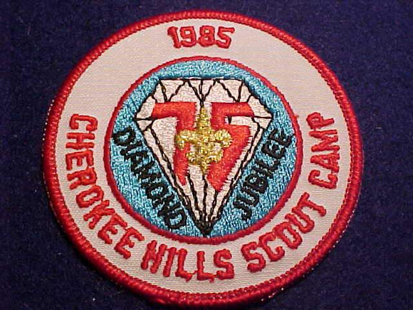 CHEROKEE HILLS SCOUT CAMP, 1985