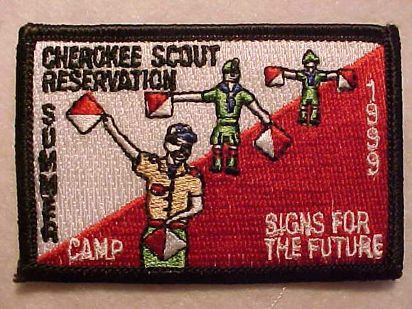 CHEROKEE SCOUT RESV., 1999, SUMMER CAMP