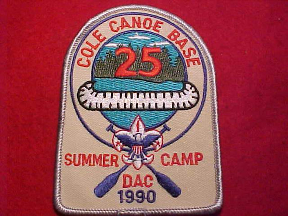 COLE CANOE BASE, 1990, SUMMER CAMP, DETROIT AREA C.