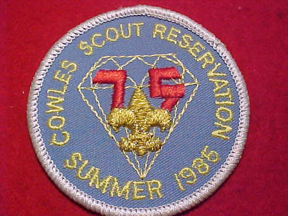 COWLES SCOUT RESV., SUMMER 1985