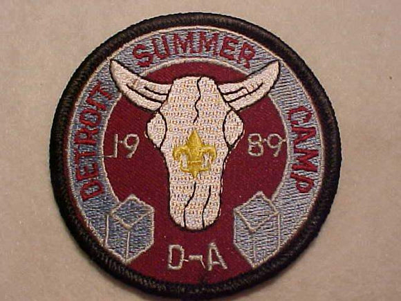 D-BAR-A, 1989, DETROIT SUMMER CAMP