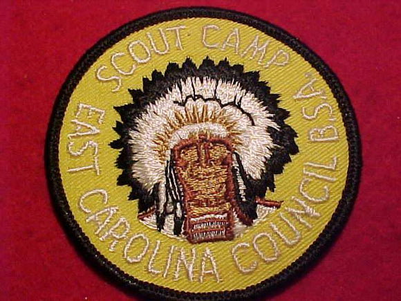 EAST CAROLINA COUNCIL SCOUT CAMP, 1960'S