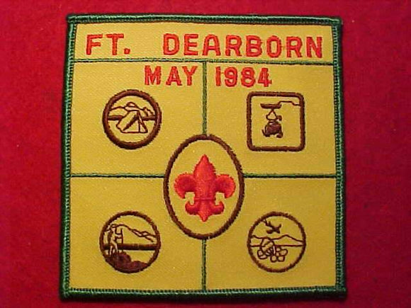 FT. DEARBORN, MAY 1984