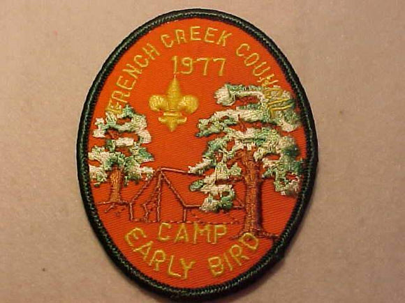 FRENCH CREEK C., 1977, CAMP EARLY BIRD
